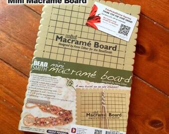 Beadsmith Macrame Board, Foam Board, Macrame Supplies, Macrame Working Board – 7.5 X 10.5 Inches / 18.7 X 26.2 cm – INKredible Macrame Class
