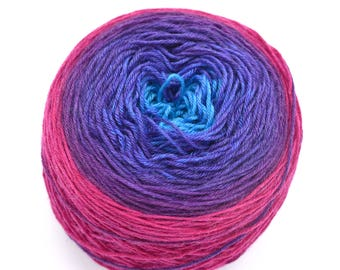 Ya Think? Gradient Hand Dyed Yarn - Made to Order