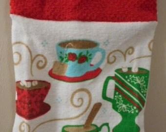MadieBs Coffee Mocha or Tea Cups Plastic Bag Holder Dispenser