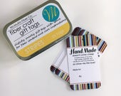 25 Knitting Gift Tags - Stripes