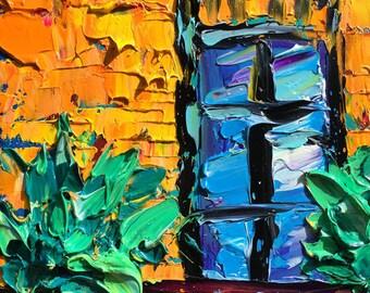 B. Sasik NEW ORLEANS Original Oil Painting  NOLA Art Painting
