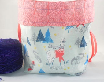 Knitlandia project bag by AnniePurl