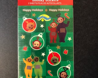 Teletubbie Stickers Happy Holiday scrapbook New stickers