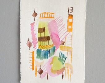 No. 14(ways) and original watercolor painting