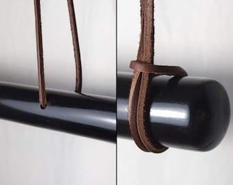 Black Bamboo Display Rod Hanger For Japanese Kimono and Haori