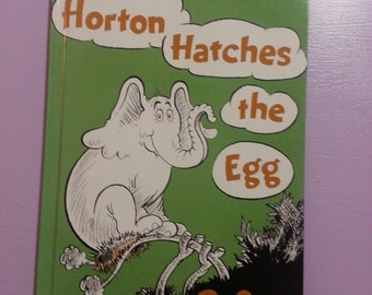 Dr Seuss Books--Horton Hatches the Egg--Classic Childrens Book--excellent condition