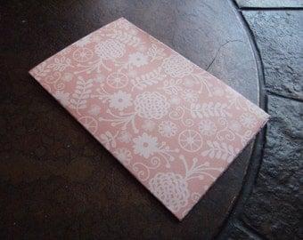 Peach Florals Traveler's Journal 2 Pocket Folder-Field Notes