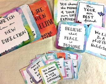 Soulful Journal Cards and Stickers