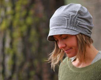 Slouch Hat - HEATHERED GREY
