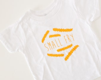 small fry tshirt toddler tee french fries