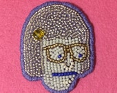 Tina Belcher Hand-Beaded Patch