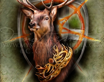 Game of Thrones / House Baratheon / Baratheon / Ours is the Fury  / Baratheon Crown / Storms End  / FanArt Print