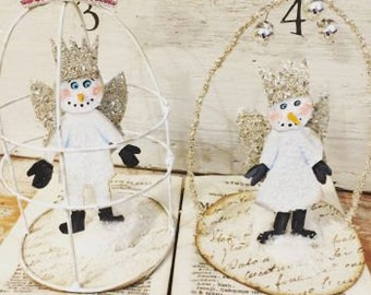 DIY Holiday Ornaments online class ! learn 3 new ornaments for this year ! soldered