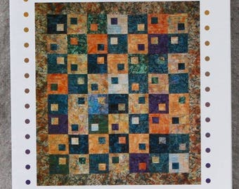 Quilt Pattern - Habitat by Fourth & Sixth Designs