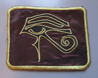 Eye of Horus Egyptian Sew On Patch