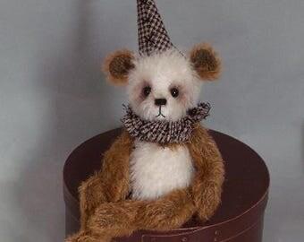"""OOAK handmade artist bear """"Dempsey"""" - JRB Creations"""