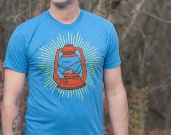 Lantern Shirt Mens Screenprinted Tee