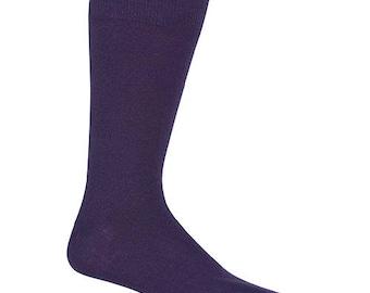 PLUM David's Bridal Specialty Color Grooms Socks, Groomsmen Socks, Wedding Gift, Bridal Party