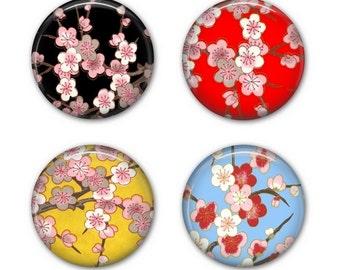 SAKURA COASTERS - Drink Coasters, Cherry Blossom Coasters