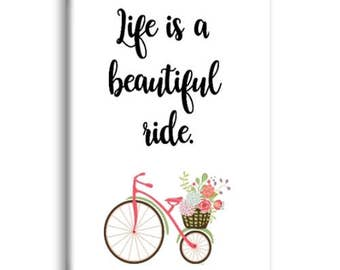 Life Is A Beautiful Ride Magnet, Refrigerator Magnet