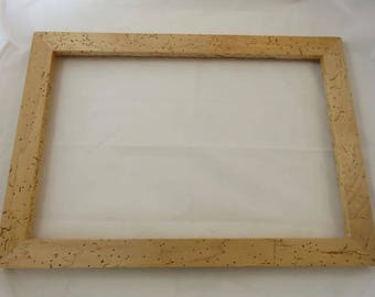 12 x 18 Rock Maple with worm tracking Picture Frame