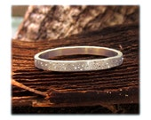 Silver Sparkle Ring, Silver Stardust Ring