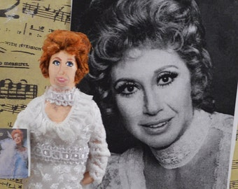 Beverly Sills Doll Miniature Opera Singer Performing Arts Singer Performer