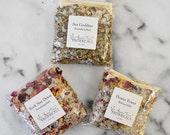 SALE - Organic Bath Salts Travel Size 5 oz Zip Pouch Choose Scent: Detox Bath, Salt Bath, Essential Oil Bath, Bath Tea, Organic Skin Care