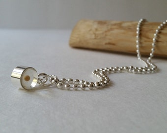 Small clear Mustard seed jewelry pendant, Real seed charm