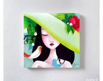 Acrylic painting: Nature