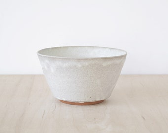 matte white bowl : SECONDS SALE