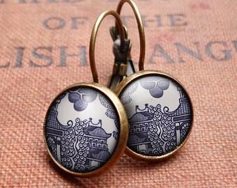 Willow No.1 Leverback Earrings (BP01)