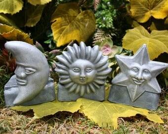 Pot Feet for Planters - Sun Face Garden Potrisers Planter Feet