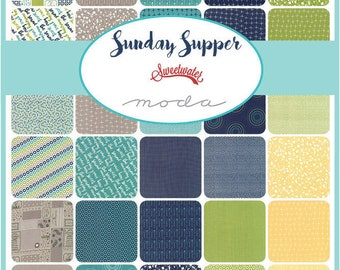 Sunday Supper by Sweetwater - Half Yard Bundle - Complete Set