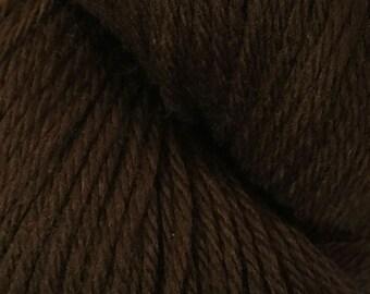 Dark Chocolate Brown Cascade 220 Yarn 220 yards 100% Peruvian Highland Wool color 9557