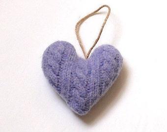 Heart, Valentine's Day Ornament, Valentines Decor, Valentines Heart, Felt Heart Ornament, Gift for Her, Valentine Gift, Valentines