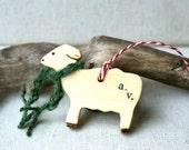 Custom Branded Sheep Ornament