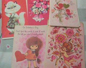 sweet vintage valentine cards