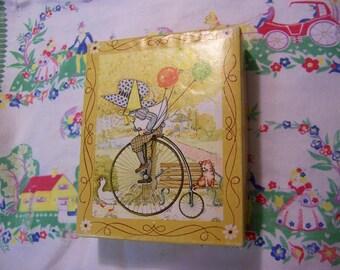little vintage card box