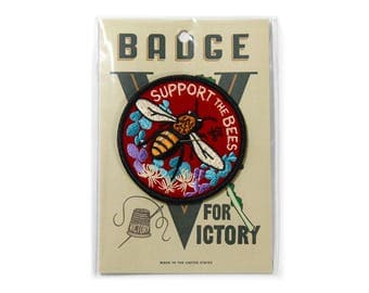 Support Bees Felt Badge