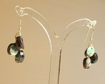 Abalone Drop Earrings