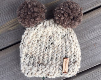 Solid Color Knit Hat Baby Toddler