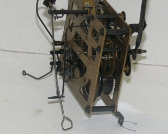 German Cuckcoo Clock Works - E Schmeckenbecher Co. Steampunk - Mechanical Device
