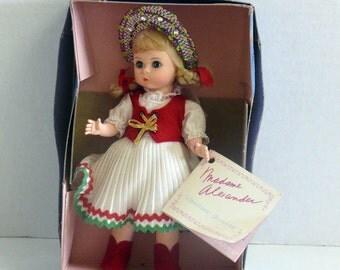 Madame Alexander Doll - Hungary Costume - 1986 - International Dolls