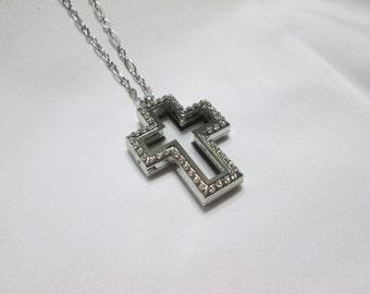 Cross Locket Necklace