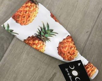 Women's Summer Pineapple Head Wrap