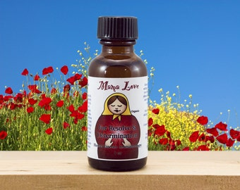 Resolve and Determination, Organic Flower Essence Aromatherapy, Body, Bath, Massage Oil, Spa, Bach Flowers, Fortitude and Patience