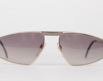 Authentic YVES SAINT LAURENT Vintage mint unsiex sunglasses mod. asterius 60/18