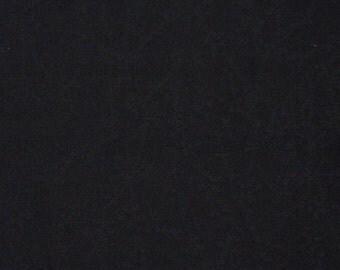 Vintage haori S379, black silk, rinzu