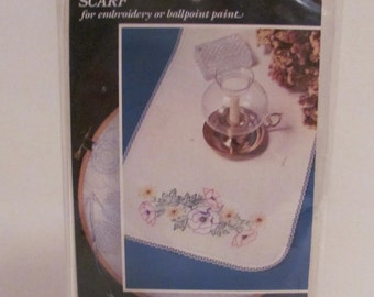 Vogart Scarf for Embroidery or Ballpoint Paint